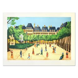 """Heine - """"Place"""" Limited Edition Lithograph, Numbered and Hand Signed."""