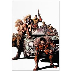 """Marvel Comics """"New Avengers #10"""" Numbered Limited Edition Giclee on Canvas by Mike Deodato Jr.; Incl"""