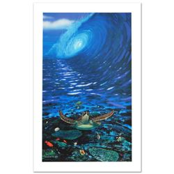 """""""Turtle Time"""" Limited Edition Giclee on Canvas by Renowned Artist Wyland, Numbered and Hand Signed w"""