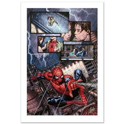 """""""Ultimatum #1"""" Limited Edition Giclee on Canvas by David Finch and Marvel Comics. Numbered and Hand"""