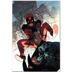 """Marvel Comics """"Deadpool #6"""" Numbered Limited Edition Giclee on Canvas by Jason Pearson; Includes Cer"""