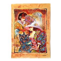 """Sergey Kovrigo- Original Watercolor """"Novelty"""""""