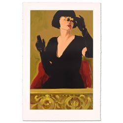 """Linda Kyser Smith, """"Stage Left"""" Limited Edition Serigraph, Numbered and Hand Signed with Certificate"""