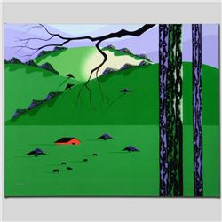 """Cows Come Home"" Limited Edition Giclee on Canvas by Larissa Holt, Protege of Acclaimed Artist Eyvin"