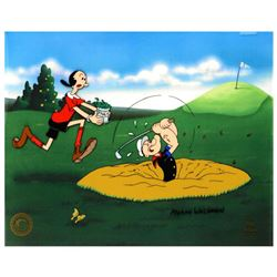 "Myron Waldman (1908-2006). ""A Day At The Links"" Limited Edition Hand Inked and Painted Animation Cel"