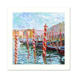 "Marco Sassone, ""Bricole Rose"" Limited Edition Serigraph, Numbered and Hand Signed with Letter of Aut"
