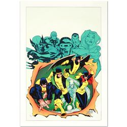 """X-Men Giant-Size #1"" Limited Edition Giclee on Canvas by Ed McGuinness and Marvel Comics, Numbered"