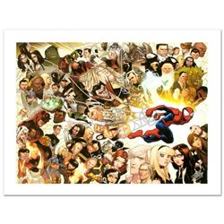 """Ultimate Spider-Man #150"" Limited Edition Giclee on Canvas by David Lafuente and Marvel Comics, Num"