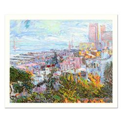 """Marco Sassone, """"View At Bay Bridge"""" Limited Edition Serigraph (40"""" x 32""""), Numbered and Hand Signed"""