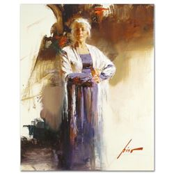 """Pino (1939-2010) - """"The Matriarch"""" Artist Embellished Limited Edition on Canvas, AP Numbered and Han"""