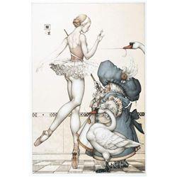 "Michael Parkes ""Ballet Mistress"" Original Hand Pulled Stone Lithographs"