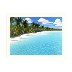 """Dan Mackin, """"Endless Beaches"""" Limited Edition Lithograph, Numbered and Hand Signed with Letter of Au"""