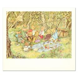 """Susan Anderson, """"The Teddy Bears Picnic"""" Limited Edition Lithograph, Numbered and Hand Signed with L"""