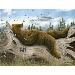 """Robert Bissell """"AM2"""" Giclee on Canvas"""