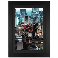 """""""Amazing Spider-Man #666"""" Extremely Limited Edition Giclee on Canvas (28"""" x 39"""") by Stefano Caselli"""