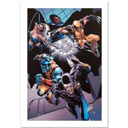 """""""X-Men vs. Agents of Atlas #1"""" Limited Edition Giclee on Canvas by Carlo Pagulayan and Marvel Comics"""