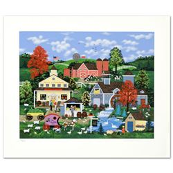 """Sweet Corn And Summer Dreams"" Limited Edition Serigraph by Jane Wooster Scott, Numbered and Hand Si"