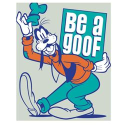 "Doug Day - ""Be a Goof"" Limited Edition Giclee on Canvas from Disney Fine Art, Numbered and Hand Sign"