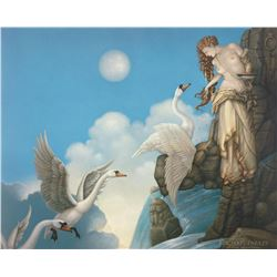 "Michael Parkes ""The Source"" Masterworks on Canvas"