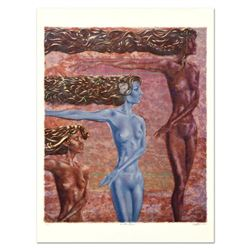 "Gerald Fried, ""The Three Graces"" Limited Edition Lithograph, Numbered and Hand Signed."