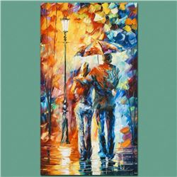 "Leonid Afremov ""Warmth"" Limited Edition Giclee on Canvas, Numbered and Signed; Certificate of Authen"