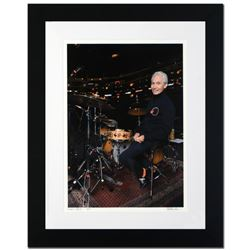 """Charlie Watts"" Limited Edition Giclee by Rob Shanahan, Numbered and Hand Signed with Certificate of"
