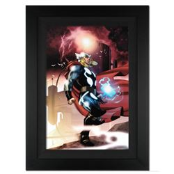"""Thor #615"" Ltd Ed Giclee on Canvas by Joe Quesada and Marvel Comics. Numbered Out of Only 10 Pieces"