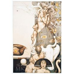 "Michael Parkes ""Angel that Stops Time"" Original Hand Pulled Stone Lithographs"
