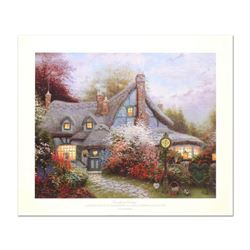 "Thomas Kinkade (1958-2012), ""Sweetheart Cottage"" Limited Edition Offset Lithograph, Numbered and Han"