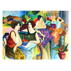 "Patricia Govezensky- Original Watercolor ""Wake Up One Day"""