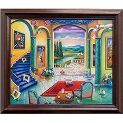 "Alexander Astahov- Original Oil on Canvas ""Accomplishments"""