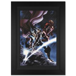 """""""Thor #80"""" Extremely Limited Edition Giclee on Canvas (28"""" x 39"""") by Steve Epting and Marvel Comics."""