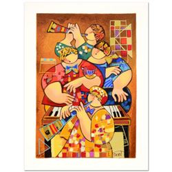 """Dorit Levi, """"Slow Summer Tune"""" Limited Edition Serigraph, Numbered and Hand Signed with Certificate"""