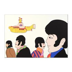 """The Beatles - """"Goin Round in Circles"""" Limited Edition on Gallery Wrapped Canvas, Numbered with Certi"""