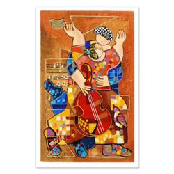 """Dorit Levi, """"Romantic Dancing"""" Limited Edition Serigraph, Numbered and Hand Signed with Certificate"""
