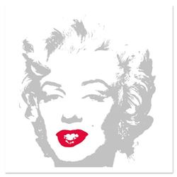 """Andy Warhol """"Golden Marilyn 11.35"""" Limited Edition Silk Screen Print from Sunday B Morning."""