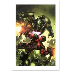 """Deadpool #3"" Limited Edition Giclee on Canvas by Clayton Crain and Marvel Comics. Numbered and Hand"
