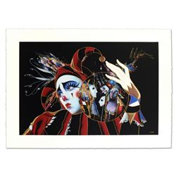 "Martiros Manoukian - ""Passionated Care"" Limited Edition Serigraph, Numbered and Hand Signed with Cer"