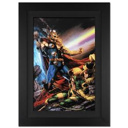 """Thor: First Thunder #5"" Extremely Limited Edition Giclee on Canvas (29"" x 40"") by Jay Anacleto and"