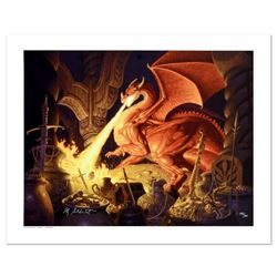 """Smaug"" Limited Edition Giclee on Canvas by The Brothers Hildebrandt. Numbered and Hand Signed by Gr"