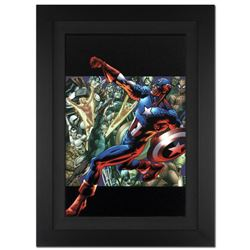 """Captain America: Man Out Of Time #5"" Extremely Limited Edition Giclee on Canvas by Bryan Hitch and"