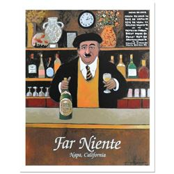 "Guy Buffet - ""Far Niente"" Serigraph on Paper."