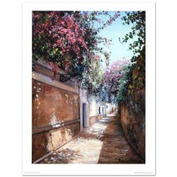 "Rocio Nell, ""Midday at Water Alley"" Limited Edition Lithograph, Numbered and Hand Signed."