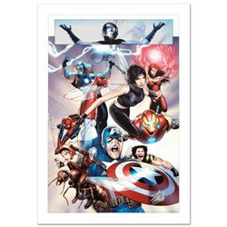 """Ultimate Fantastic Four #26"" Limited Edition Giclee on Canvas by Greg Land and Marvel Comics. Numbe"