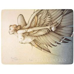"""Michael Parkes """"Beyond the Night"""" Original Hand Pulled Stone Lithographs"""