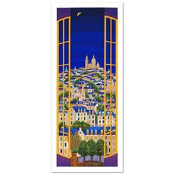 """""""Windows On Paris"""" Limited Edition Serigraph by Fanch Ledan, Numbered and Hand Signed with Certifica"""