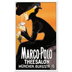 """""""Marco Polo"""" Hand Pulled Lithograph by the RE Society. Includes Certificate of Authenticity."""