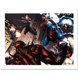 """""""Ultimate Spider-Man #126"""" Limited Edition Giclee on Canvas by Stuart Immonen and Marvel Comics. Num"""