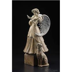 """Michael Parkes """"The Letter"""" Bronze Sculptures"""