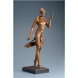 """Michael Parkes """"The Rose"""" Bronze Sculptures"""